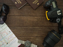 Travel Accessories Royalty Free Stock Image