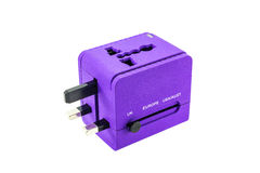 Travel adapter Stock Photography