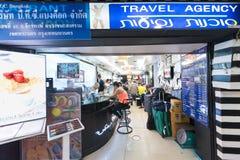 Travel agency in Bangkok Royalty Free Stock Photography