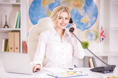Travel agency Stock Photo