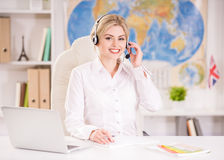 Travel agency Stock Images