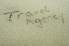 Travel agency - holiday concept Royalty Free Stock Photography