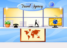 Travel agency Stock Photography