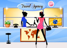 Travel agency Royalty Free Stock Image