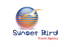 Travel Agency Logo Design Royalty Free Stock Image