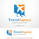 Travel Agency Logo Template Design Vector Stock Image