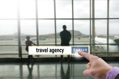 Travel agency Stock Photo
