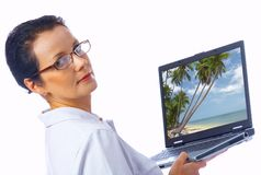 Travel agent Stock Images