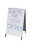 Travel Agent Sale Stock Images