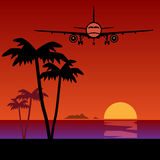 Travel or Air Cargo vector illustration