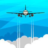 Travel or Air Cargo abstract royalty free illustration