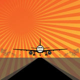 Travel or Air Cargo abstract Stock Image