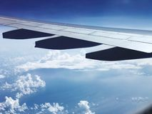 Travel in the air.  stock photography