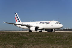 Travel by airfrance to the netherlands. Stock Photos