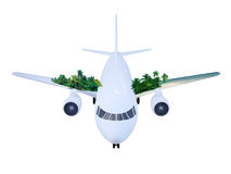 Travel airplane Stock Photo