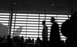 Travel airport. Passenger in airport. some Shots with low shutter speed stock photography
