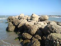Travel Albania Durres region in Adriatic stock image