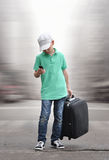 Travel alone Royalty Free Stock Images