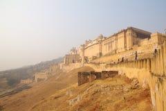 Amer Fort , Jaipur, Rajastan, India. 2012, January, 2nd. Travel Amer Fort in Jaipur, Rajastan, India. year 2012, January, 2nd Royalty Free Stock Photo