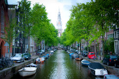 Travel Amsterdam city Holland Europe Royalty Free Stock Photo