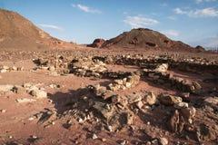 Travel in Arava desert Stock Photo