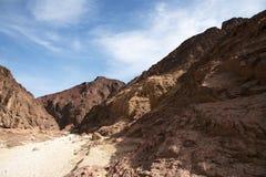 Travel in Arava desert Stock Photography