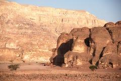 Travel in Arava desert Royalty Free Stock Image
