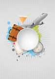 Travel area Royalty Free Stock Photography