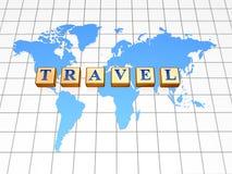 Travel around the world Royalty Free Stock Photos