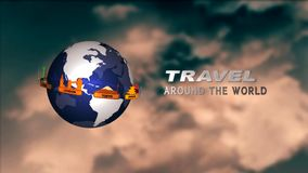 Travel around the world. Full HD stock footage