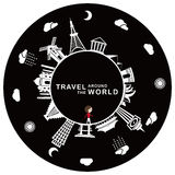 Travel around the world Royalty Free Stock Images
