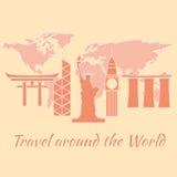 Travel around the world Stock Photos