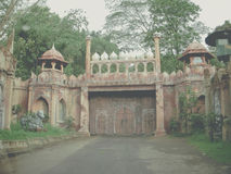 Safari Gate in Indonesia royalty free stock images