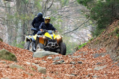 Travel on ATVs Royalty Free Stock Photography