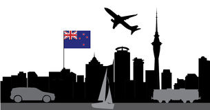 Travel auckland Stock Images
