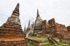 Travel Ayutthaya Thailand Riding an elephant Stock Photo