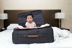 Travel with baby Stock Photos