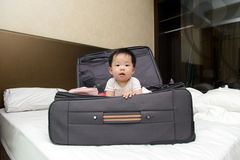 Travel with baby Royalty Free Stock Photos