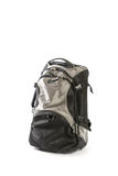 Travel back pack isolated on white background Royalty Free Stock Images