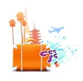 Travel background Royalty Free Stock Image