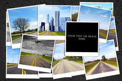 Travel background Stock Photography