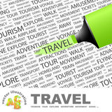TRAVEL. Royalty Free Stock Photography