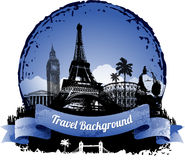 Travel background Royalty Free Stock Images