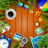 Travel background illustration stock illustration