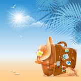 Travel background Royalty Free Stock Photography