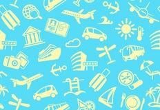 Travel background. Vector illustration Royalty Free Stock Photo