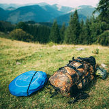 Travel backpack Royalty Free Stock Photos