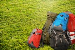 Travel Backpack Stock Photo
