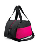 Travel bag. On a white background. Isolated path included royalty free stock images