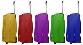 Travel bag - colorful Royalty Free Stock Image
